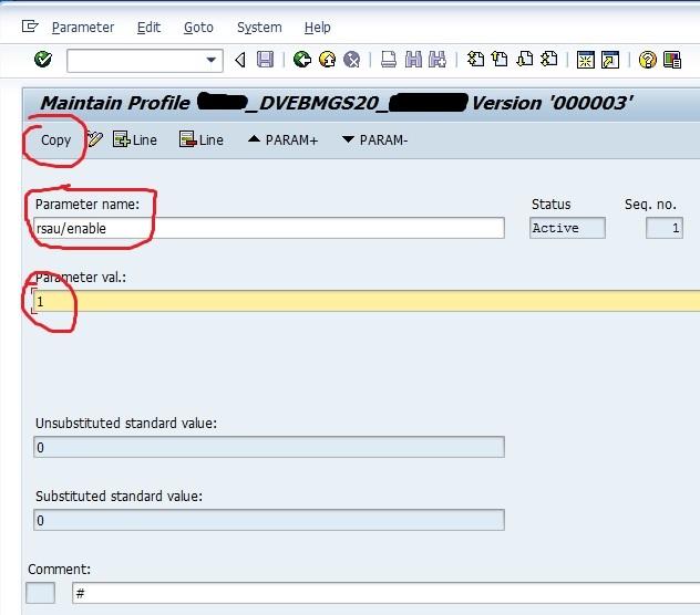 SAP Security Audit Log 5