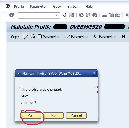 SAP Security Audit Log 7