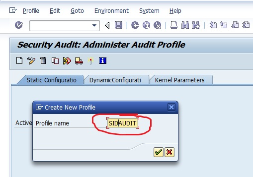 SAP Security Audit Log 2