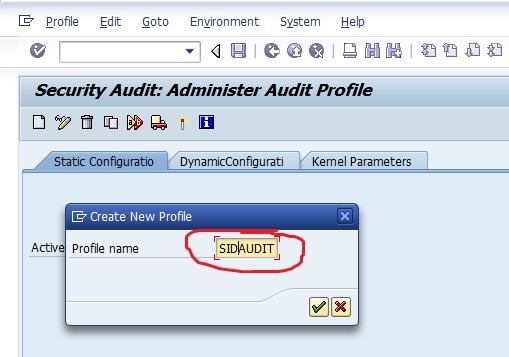 SAP Security Audit Log 2