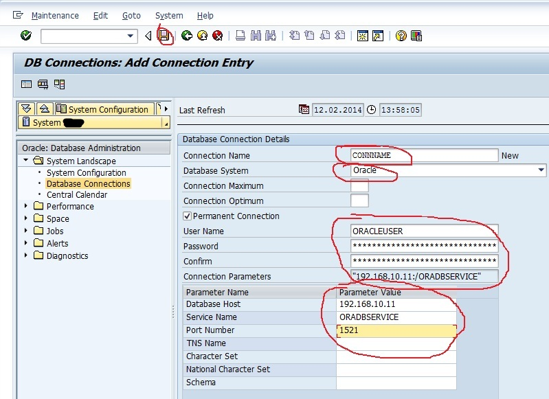 SAP Externel DB Connection 2