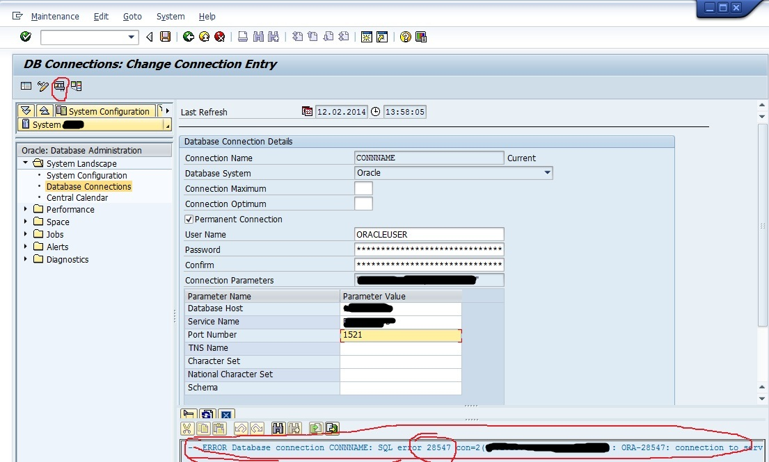 SAP Externel DB Connection 3