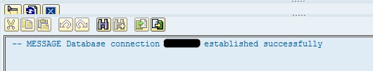 SAP Externel DB Connection 4