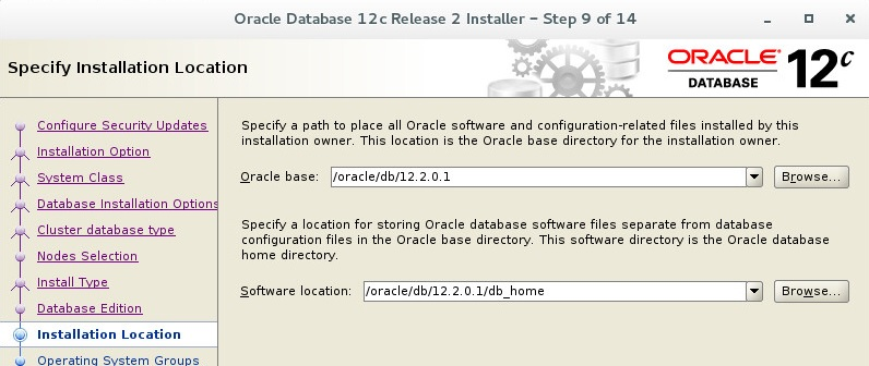 Oracle 12c R2 (12 2 0 1) RAC Installation Steps on Oracle
